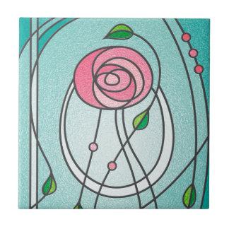 Mackintosh-Rose Fliese