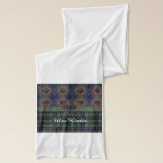 MacKirdie Clan karierter schottischer Kilt Tartan Schal