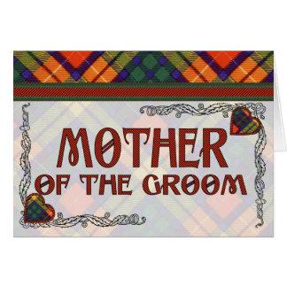 MacLea Clan karierter schottischer Kilt Tartan Karte