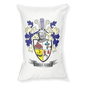 MacLean Familienwappen-Wappen Haustierbett