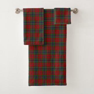 Maclean Tartan schottisches modernes MacLean von Badhandtuch Set