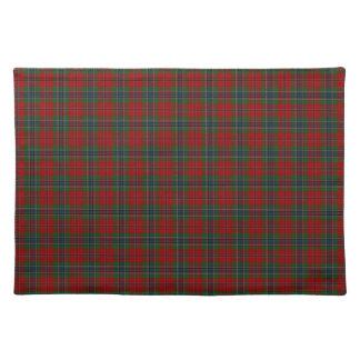Maclean Tartan schottisches modernes MacLean von Stofftischset