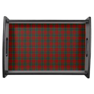 Maclean Tartan schottisches modernes MacLean von Tablett