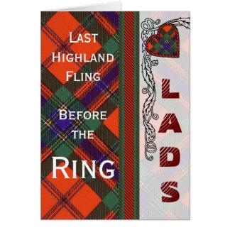 Maclean von Duart ScottishTartan Karte