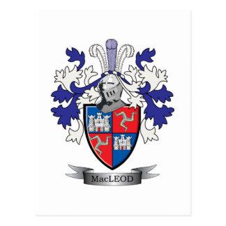 MacLeod Familienwappen-Wappen Postkarte