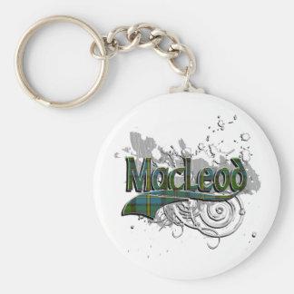 MacLeod Tartan-Schmutz Schlüsselanhänger