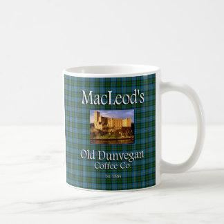 MacLeods alter Dunvegan Kaffee Co. Kaffeetasse