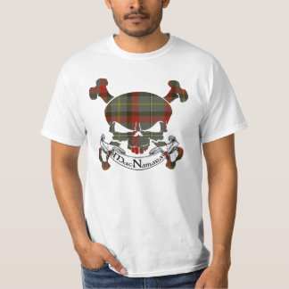 MacNamara Tartan-Schädel T-Shirt