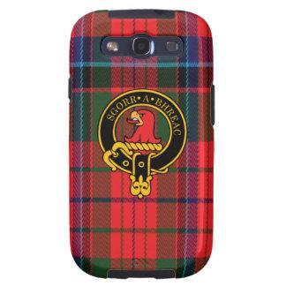 Macneacail schottisches Wappen und Tartan S3 rufen Schutzhülle Fürs Galaxy S3