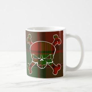 MacPhail Tartan-Schädel keine Fahne Kaffeetasse