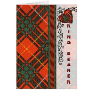 MacPhedran Clan karierter schottischer Kilt Tartan Karte
