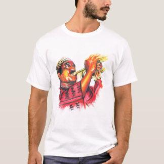 MacTontoh Farbbild auf dunklem Hintergrund T-Shirt