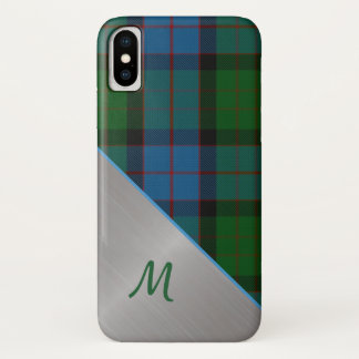 MacWilliam Tartan karierter iPhone X Fall iPhone X Hülle