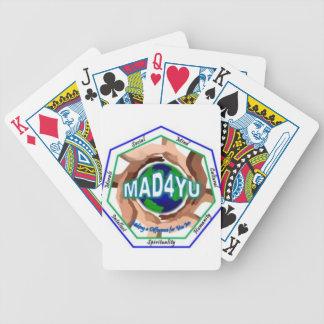 Mad4Yu Bicycle Spielkarten