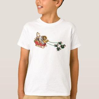 Madagaskar-Feiertags-Schlitten T-Shirt
