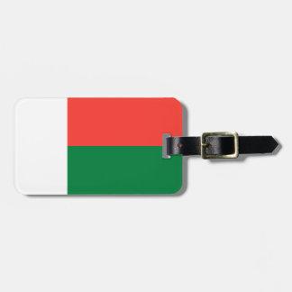 Madagaskar-Flagge Kofferanhänger