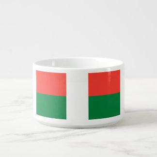 Madagaskar-Flagge Schüssel