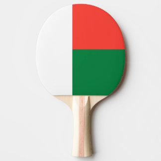 Madagaskar-Flagge Tischtennis Schläger