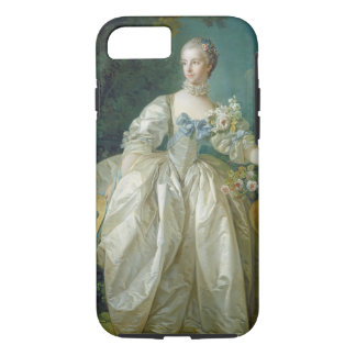 Madame Bergeret, C. 1766 (Öl auf Leinwand) iPhone 8/7 Hülle