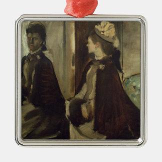 Madame Jeantaud Edgar Degas-  im Spiegel Silbernes Ornament