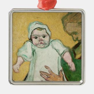 Madame Roulin und ihr Baby Vincent van Gogh-| Silbernes Ornament