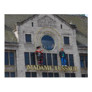 Madame Tussaud - Amsterdam Postkarte