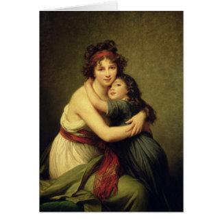 Madame Vigee-Lebrun und ihre Tochter Karte