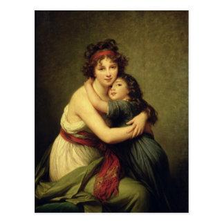 Madame Vigee-Lebrun und ihre Tochter Postkarte