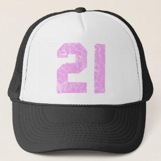 Mädchen-21. Geburtstags-Geschenke Truckerkappe