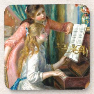 Mädchen am Klavier Untersetzer
