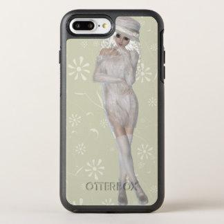 Mädchen-Apple iPhone 6 Plussymmetrie-Reihe OtterBox Symmetry iPhone 8 Plus/7 Plus Hülle