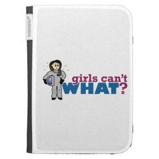 Mädchen-Astronaut