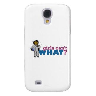 Mädchen-Astronauten Galaxy S4 Hülle