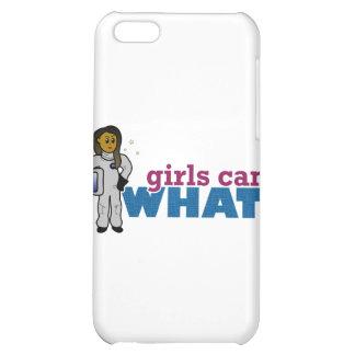 Mädchen-Astronauten iPhone 5C Cover