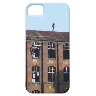 Mädchen auf dem Dach 02,2, verlorene Plätze iPhone 5 Hülle