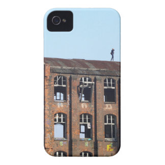 Mädchen auf dem Dach - verlorene Plätze Case-Mate iPhone 4 Hülle