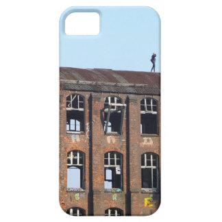 Mädchen auf dem Dach - verlorene Plätze iPhone 5 Etuis