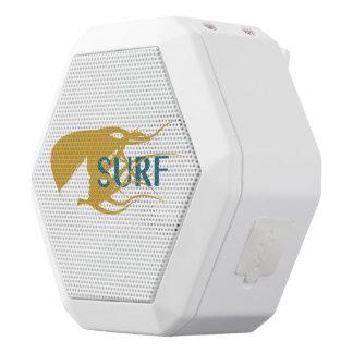 Mädchen-aufpassender Wellen-Grafik-Lautsprecher Weiße Bluetooth Lautsprecher