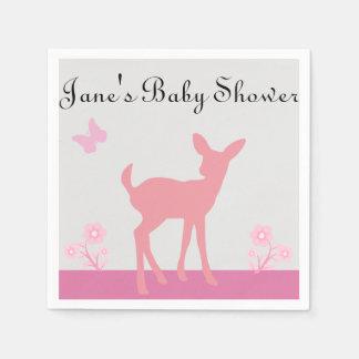 Mädchen-Babyparty-Servietten Papierserviette