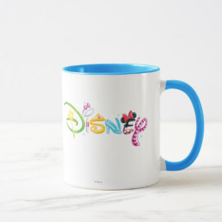 Mädchen-Charaktere Disney-Logo-| Tasse