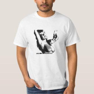 Mädchen des Pokers 8bit Tshirt