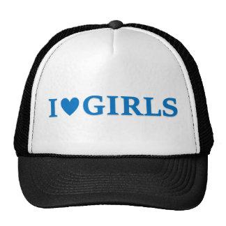 "Mädchen-Fernlastfahrer-Kappe ""des Herz-I"" Caps"
