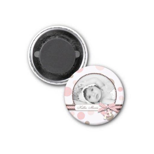 Mädchen-Foto-Magnet R Kühlschrankmagnete