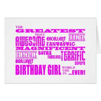 Mädchen-Geburtstage: Am beststen das meiste Geburt