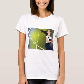 Mädchen-Gefühl geben frei T-Shirt