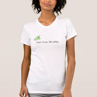 Mädchen gegangener gesunder BEHÄLTER T-Shirt
