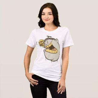Mädchen-Graffiti: Aufenthalt-wirklicher Charakter T-Shirt