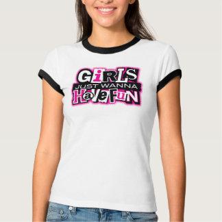 Mädchen haben Spaß Hemd