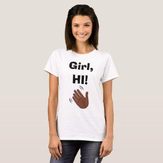 Mädchen-hallo Shirt