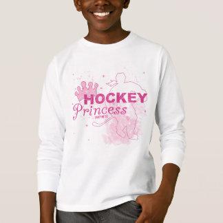 Mädchen-Hockey-Prinzessin T-Shirt